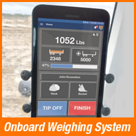 onboard weighing systems