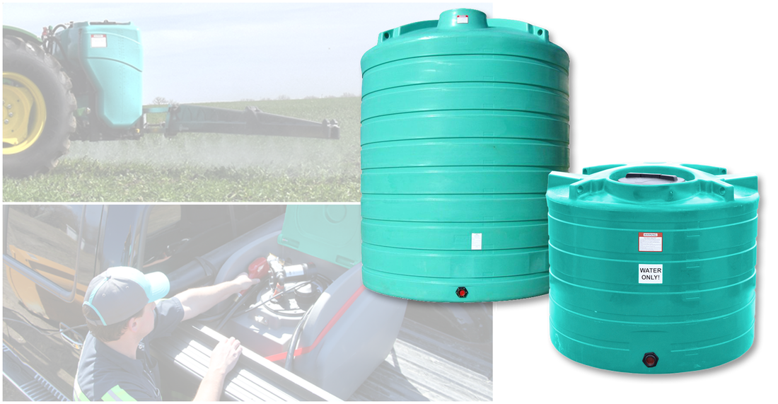 Portable & Stationary Liquid Storage Tanks - Scale and