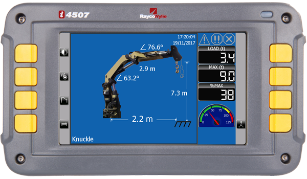 Rayco-Wylie i4500 LMI Load Moment Indicator System